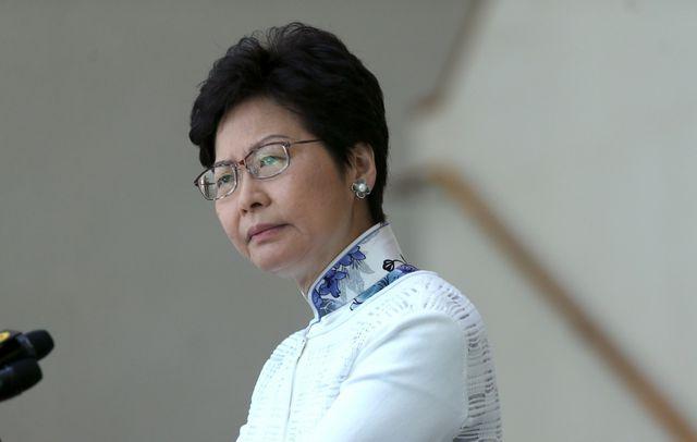 Trưởng đặc khu hành chính Hong Kong Lâm Trịnh Nguyệt Nga (Ảnh: SCMP)