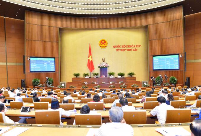 Ngày 12/6, Quốc hội tiến hành phê chuẩn đề nghị bổ nhiệm Thẩm phán Tòa án nhân dân tối cao và thảo luận 2 dự án luật.