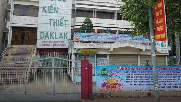 Công ty xổ số kiến thiết Đắk Lắk là một trong những đơn vị chưa công bố thông tin