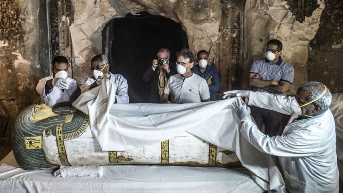 Một xác ướp 3000 năm tuổi được phát hiện tại Ai Cập
