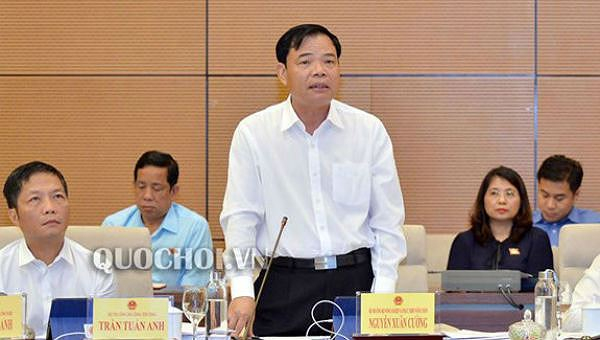 Bộ trưởng Bộ NN&PTNT Nguyễn Xuân Cường