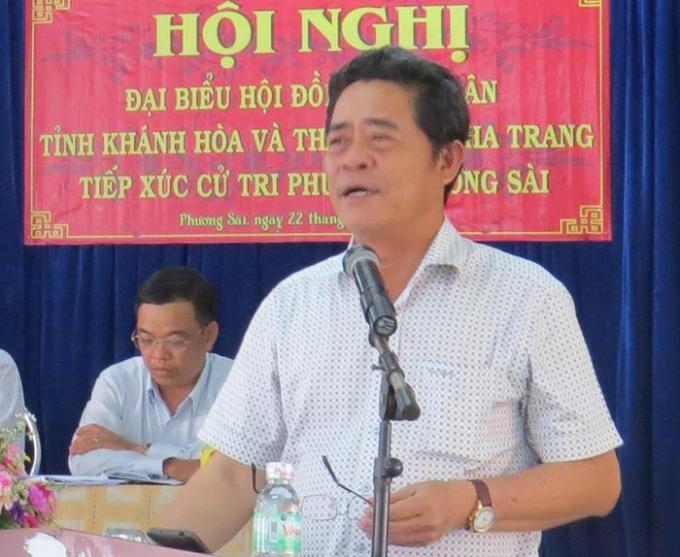 Ông Lê Thanh Quang, Ủy viên Trung ương Đảng, Bí thư Tỉnh ủy Khánh Hòa. Ảnh: TL