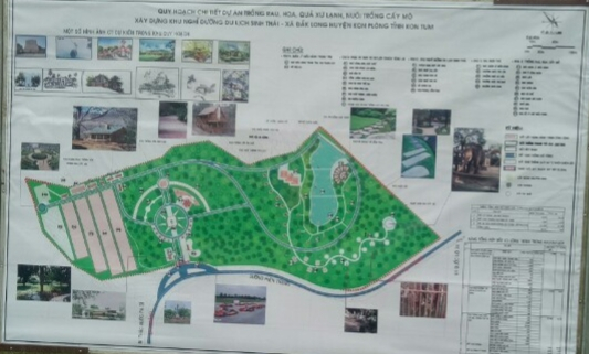Dự án trồng rau hoa xứ lạnh, nuôi trồng cây cấy mô- Xây dựng khu du lịch sinh thái tại tiểu khu 487, thôn Măng Đen, xã Đăk Long, huyện Kon Plông, tỉnh Kon Tum đã được UBND huyện Kon Plông phê duyệt chủ trương đầu tư tại Công văn số 310/CV-UBND ngày 28/5/2010 và đang được triển khai.