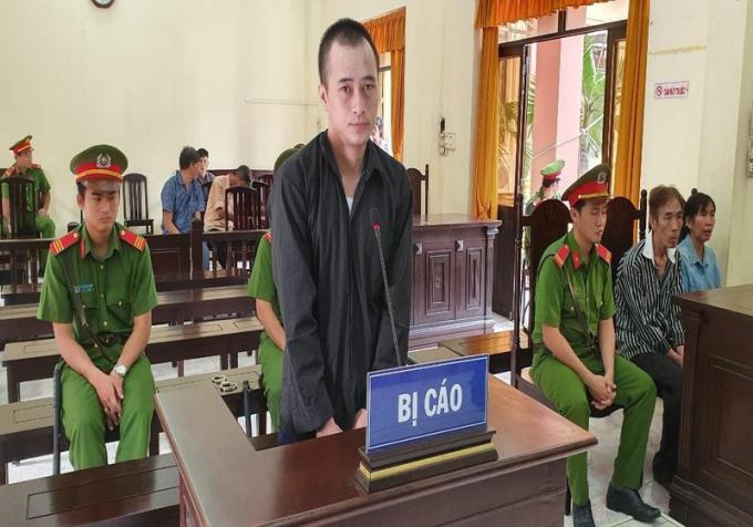 Bị cáo Nguyễn Văn Phương tại phiên tòa