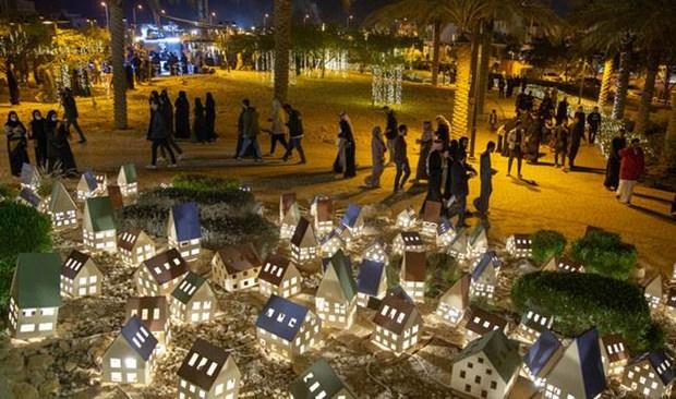 Quang cảnh một thành phố của Saudi Arabia về đêm. (Nguồn: arabnews.com)