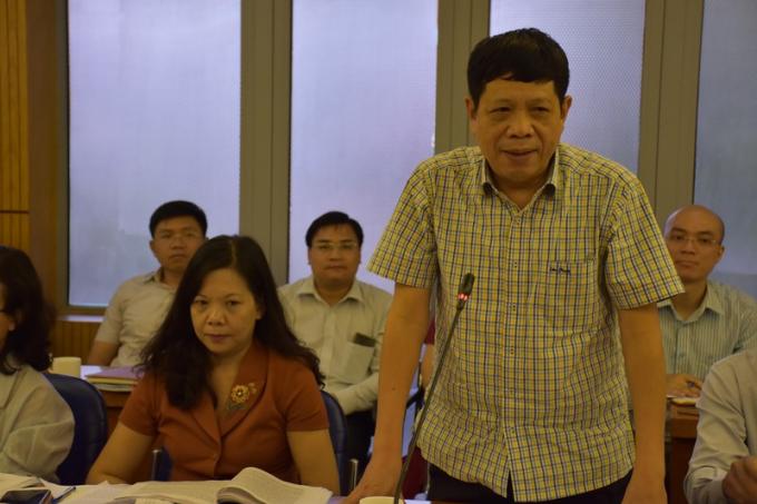 Ông Thái Anh Hùng gợi ý Bộ Tư pháp vận dụng Thông báo số 85