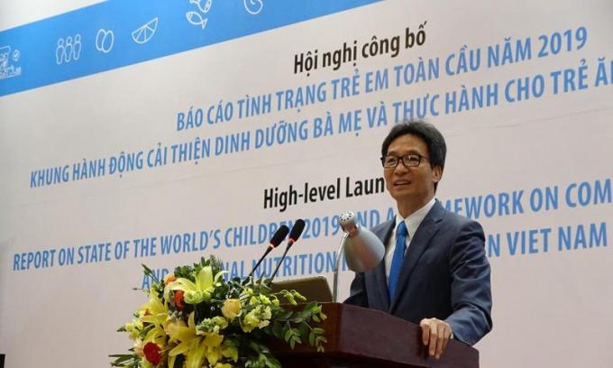 Phó Thủ tướng Vũ Đức Đam cảnh báo tình trạng ăn thiếu rau, thừa muối của người Việt