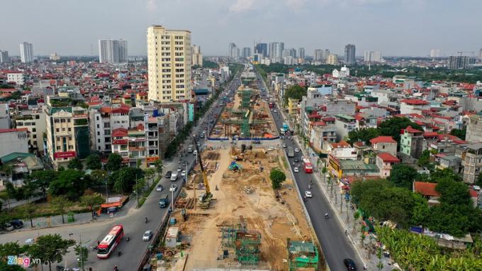 Dự án mở rộng đường vành đại III đoạn Mai Dịch- Cầu Thăng Long