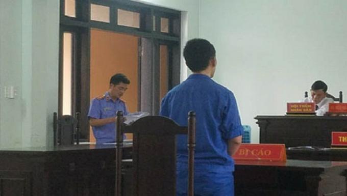 Bị cáo Huỳnh Tấn Hòa nhận mức án 8 năm tù về tội danh