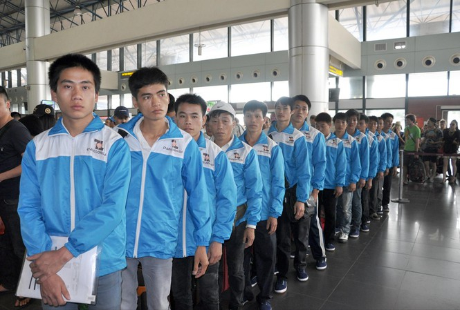 Lao động Việt Nam chuẩn bị xuất cảnh sang Nhật Bản làm việc (Ảnh minh họa)