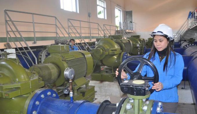 Vận hành tại nhà máy nước Hưng Vĩnh (Công ty CP Cấp nước Nghệ An)