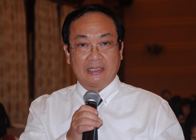 Ông Nguyễn Thế Hùng, Phó chủ tịch UBND TP Hà Nội. Ảnh: Viết Tuân