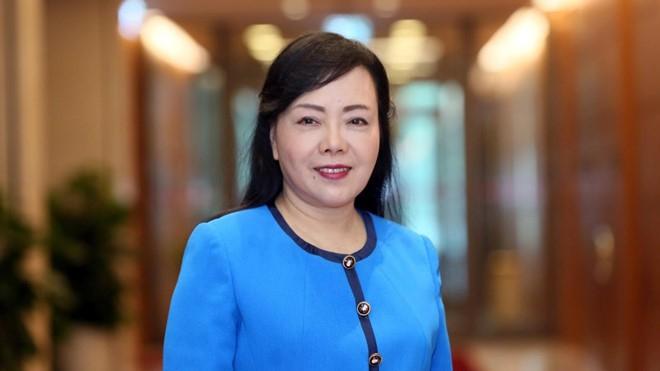 Nguyên Bộ trưởng Y tế Nguyễn Thị Kim Tiến đang là Trưởng Ban Bảo vệ, chăm sóc sức khoẻ cán bộ T.Ư