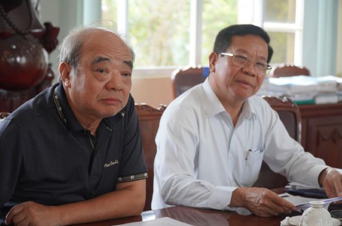 Ông Phạm Văn Hướng và ông Bùi Mạnh Lân