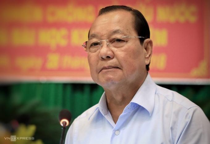 Ông Lê Thanh Hải - nguyên Ủy viên Bộ Chính trị, nguyên Bí thư TP HCM.