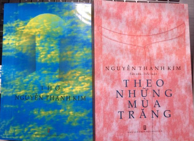 Hai trong số các tác phẩm của nhà thơ Nguyễn Thanh Kim