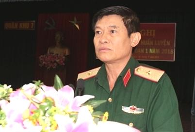 Ông Lê Bửu Tuấn - Phó Tư lệnh - Tham mưu trưởng Quân khu làm Trưởng ban.