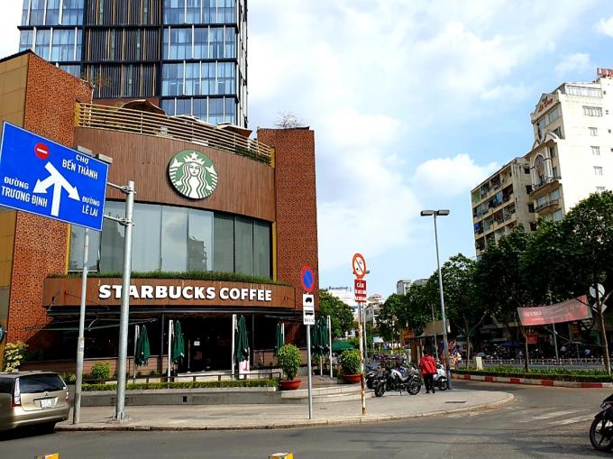 Chuỗi café Startbuck Coffee tại khách sạn New World đã hoạt động trở lại.