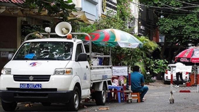 Ngày 2/5, TP Hồ Chí Minh gỡ bỏ phong toả chung cư 1A-1B đường Nguyễn Đình Chiểu (Ảnh VNE)