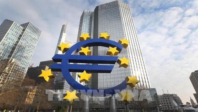 Biểu tượng đồng Euro tại Đức.