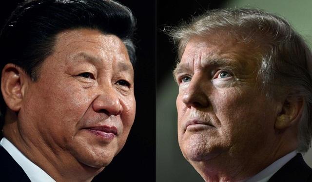 Chủ tịch Trung Quốc Tập Cận Bình (trái) và Tổng thống Mỹ Donald Trump (Ảnh: AFP)