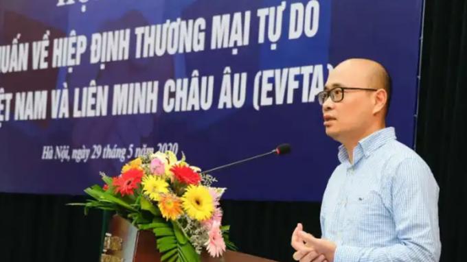 Ông Lương Hoàng Thái, Vụ trưởng Vụ Chính sách Thương mại đa biên (Bộ Công Thương).
