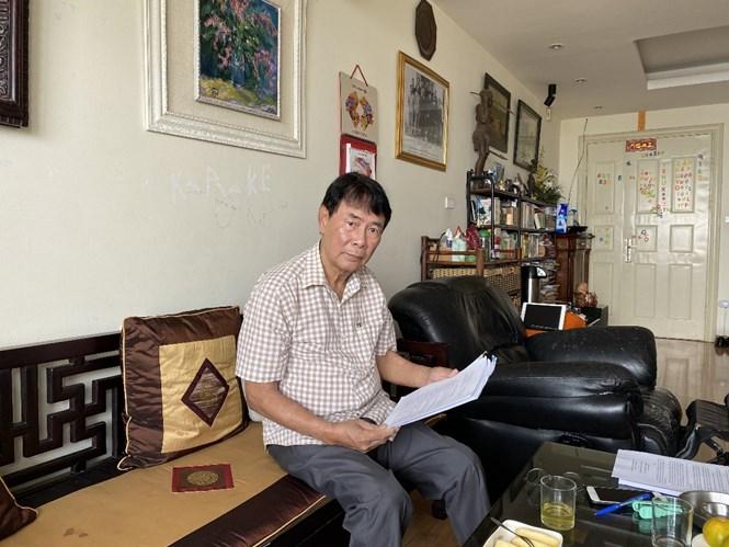 Ông Trần Tấn Hiệp bày tỏ sự bức xúc trước hành động vô trách nhiệm, có dấu hiệu cố ý làm trái, lạm quyền của Cơ quan Thi hành án dân sự Thành phố Hà Nội và UBND quận Tây Hồ.