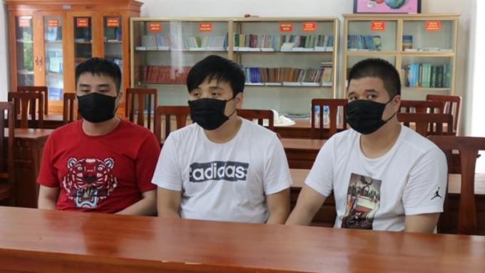 Các đối tượng người nước ngoài nhập cảnh trái phép vào Việt Nam.