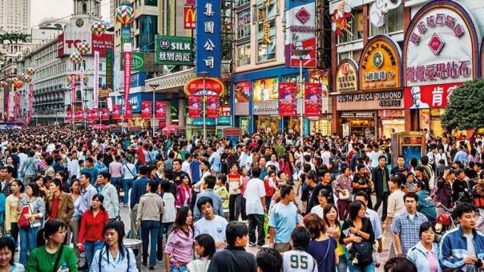 Trung Quốc đang đối mặt với hiện tượng già hoá dân số.