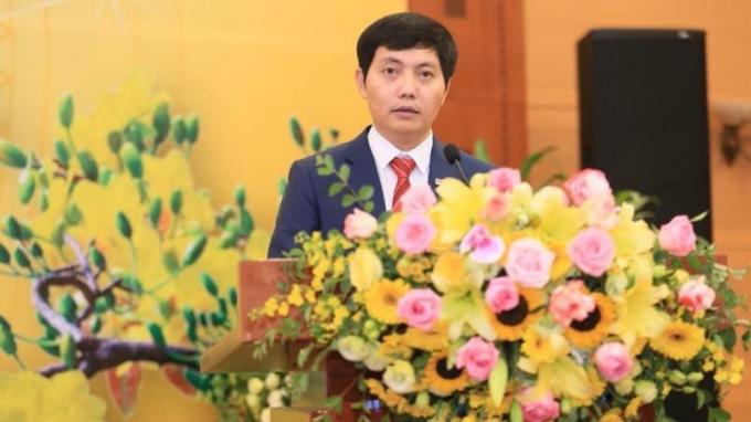 Ông Trần Đức Vinh, Phó Bí thư Đảng ủy, Phó Tổng Biên tập Báo PLVN.