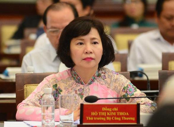 Bà Hồ Thị Kim Thoa - nguyên thứ trưởng Bộ Công thương - Ảnh: TT