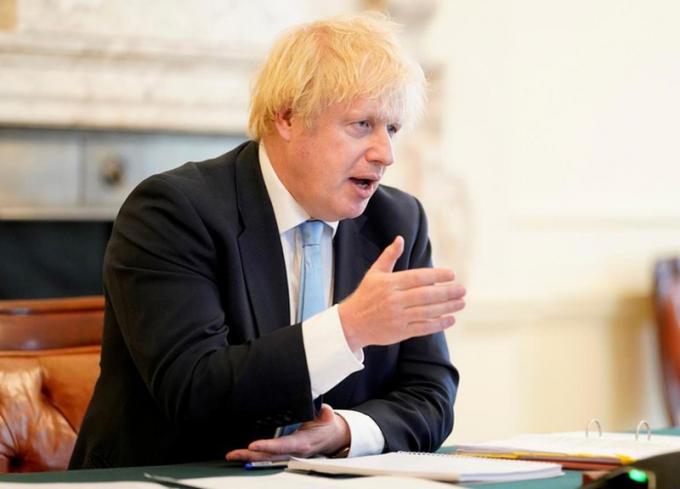 Thủ tướng Anh Boris Johnson bày tỏ quan ngại về việc Trung Quốc thông qua Luật an ninh đối với Hong Kong.