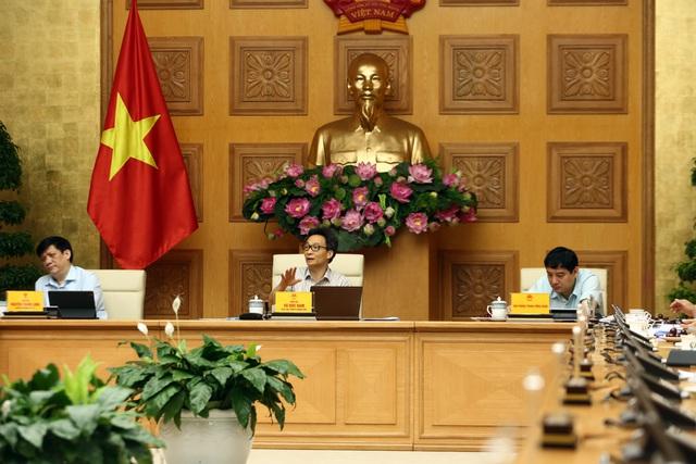 Ban Chỉ đạo quốc gia họp ngày 6/8 dưới sự chủ trì của Phó Thủ tướng Vũ Đức Đam.