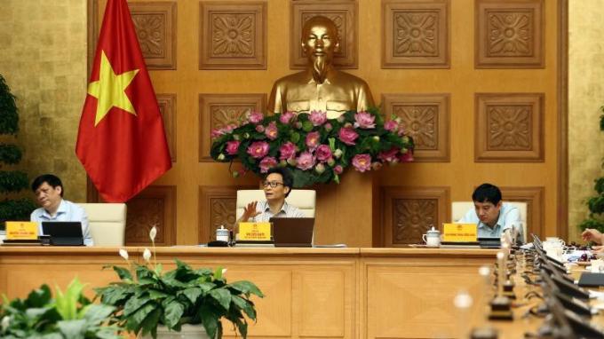Phó Thủ tướng Vũ Đức Đam chủ trì phiên họp Ban Chỉ đạo ngày 6/8.