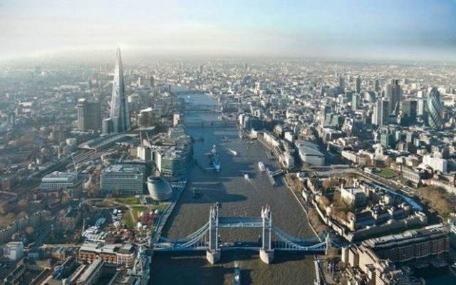 Luân Đôn - thủ đô hoa lệ của nước Anh.