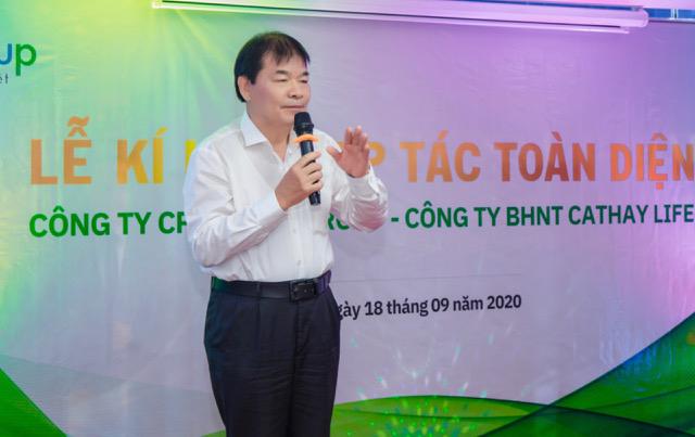 Nhà báo Nguyễn Quý Đại - Trưởng ban biên tập tạp chí OPensky - Tổng biên tập Giaothong 24h - Trưởng ban Truyền thông Hội ATGTVN.