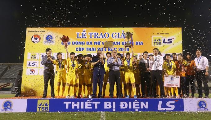 CLB TPHCM I vô địch quốc gia năm 2019