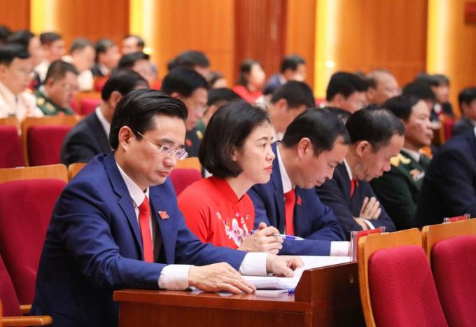 Các đại biểu dự hội nghị