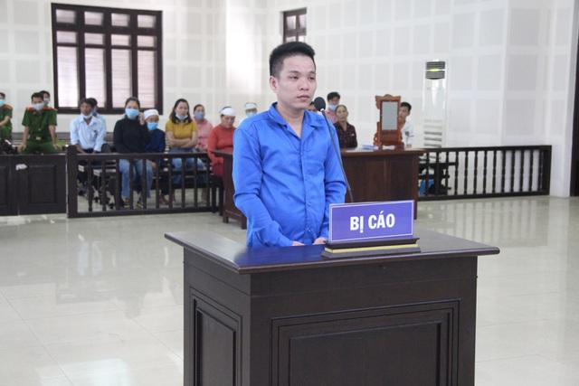 Bị cáo Tuấn tại phiên tòa.