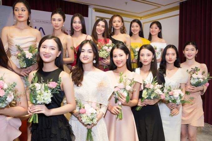 Các gương mặt lọt vào Bán kết Hoa hậu Việt Nam 2020.
