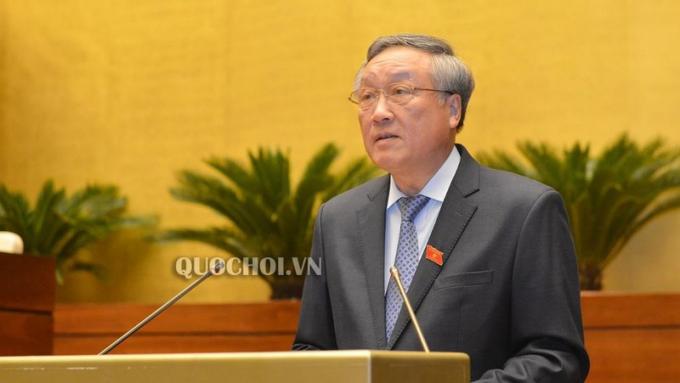 Chánh án TANDTC Nguyễn Hoà Bình.