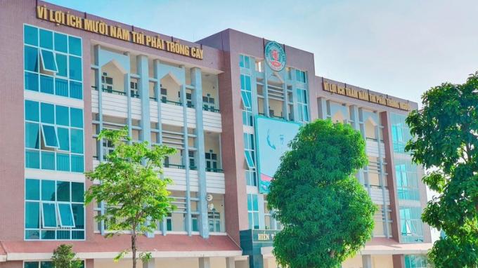 Trường THPT Phan Huy Chú (Quốc Oai, Hà Nội).