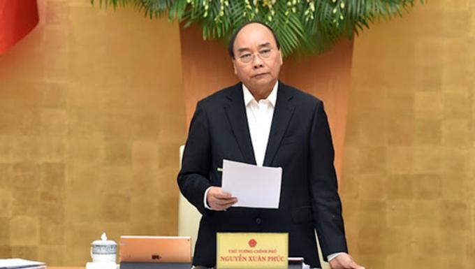 Thủ tướng Nguyễn Xuân Phúc. Ảnh: VGP News.
