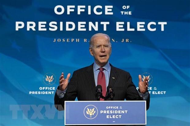 Tổng thống Mỹ đắc cử Joe Biden. (Nguồn: AFP/TTXVN)