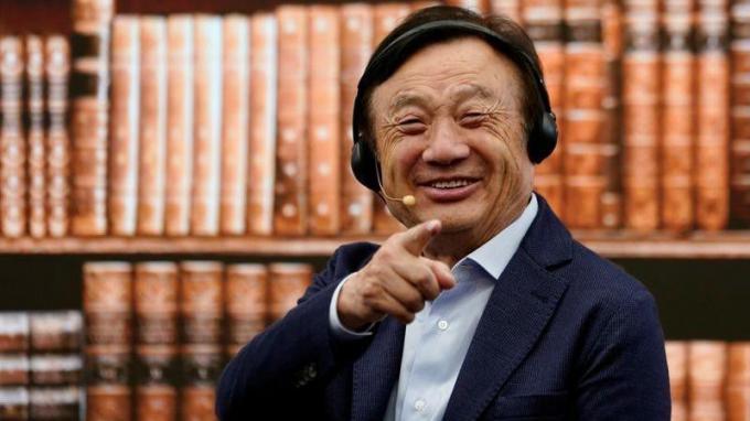 Ông Nhậm Chính Phi - Giám đốc điều hành và người sáng lập Huawei.