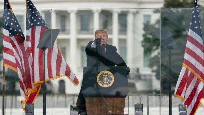 Ông Trump bị cáo buộc kích động bạo lực ở Đồi Capitol hôm 6/1.