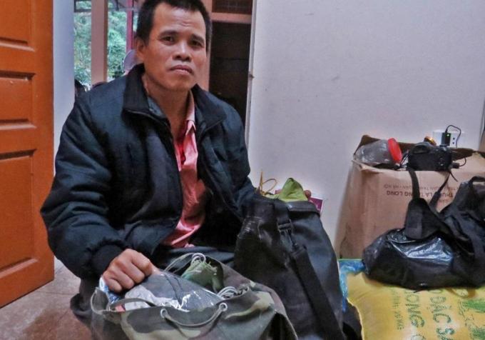 Anh Kính chia sẻ về quyết định làm người bảo vệ rừng.