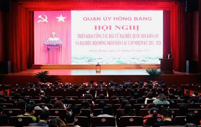 Hội nghị triển khai công tác bầu cử