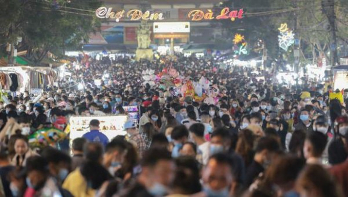 Lâm Đồng dừng các hoạt động tập trung đông người không cần thiết từ 19h hôm nay (3/5).
