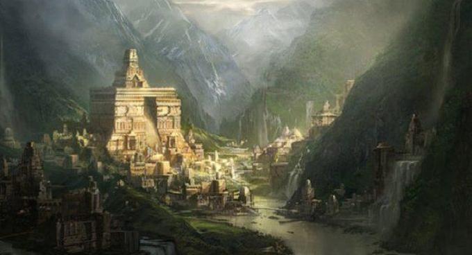 Vương quốc Shambhala bí ẩn nằm trong lòng đất.